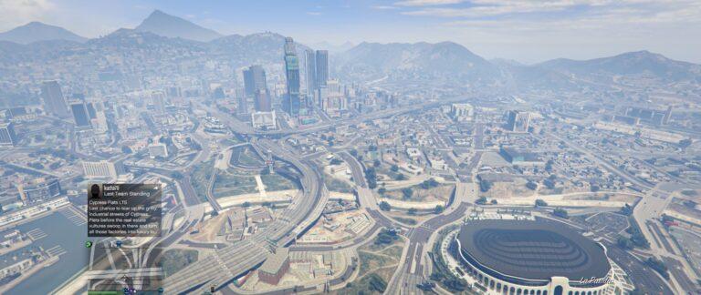 Busy City of Los Santos