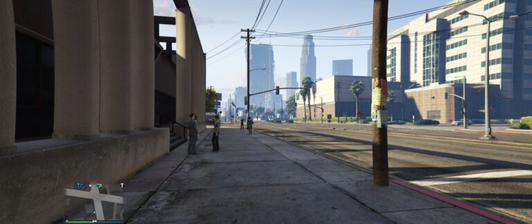 AI People of Los Santos just living out their lives.