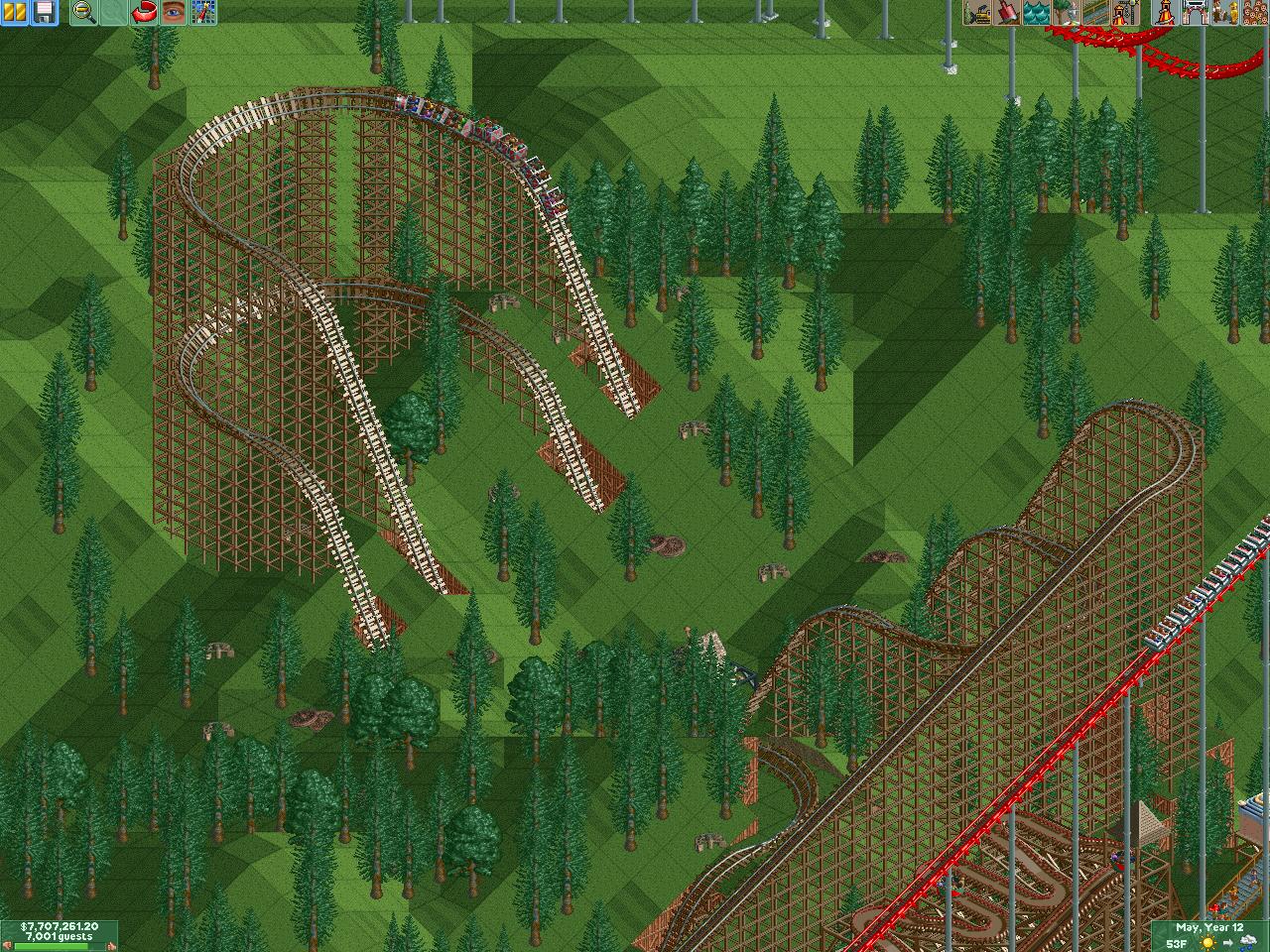RollerCoaster Tycoon 2! love It! - Grunch