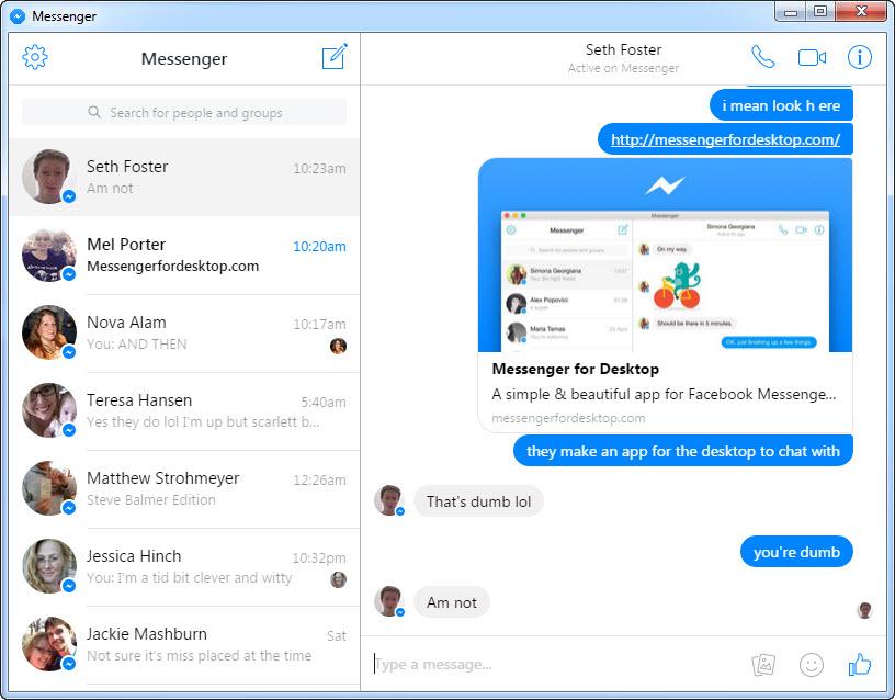 Messenger for desktop windows 10 | WhatsApp Messenger for PC