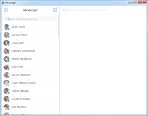 Messenger Contact List