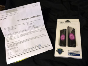 Tech Armor Retail Package