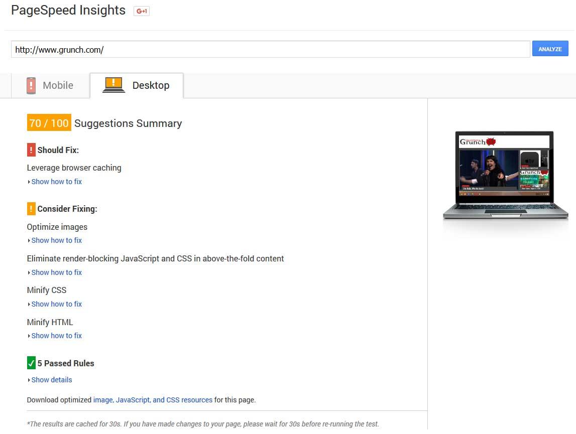 ASmallOrange PageSASmallOrange PageSpeed Insight Scorepeed Insight Score