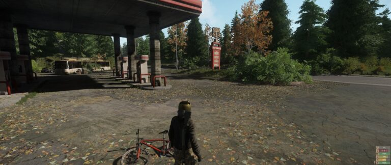 Miscreated - Abandoned Gas Station.