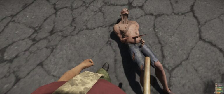 Miscreated -Dead Thorn hand mutated guy...