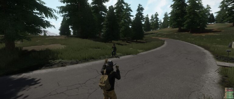 Miscreated - Waving goodbye to a new friend!