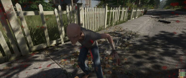 Miscreated - Being attacked by a mutant!