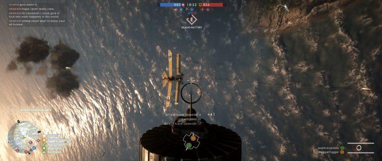 Battlefield 1 - Air Battle - Rear Gun
