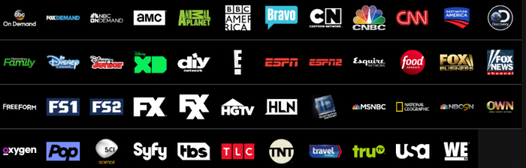 The few channels you now get on the access package.