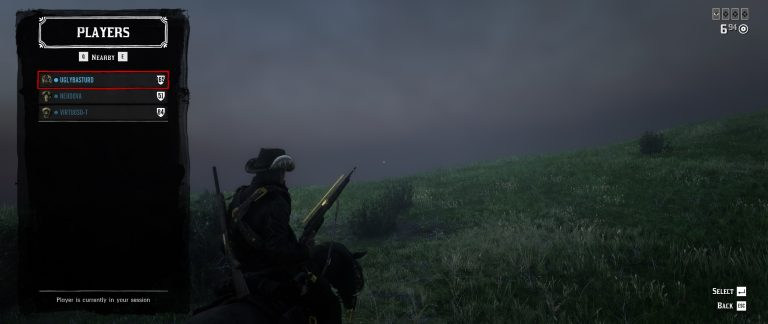Low Player Population in RDR2